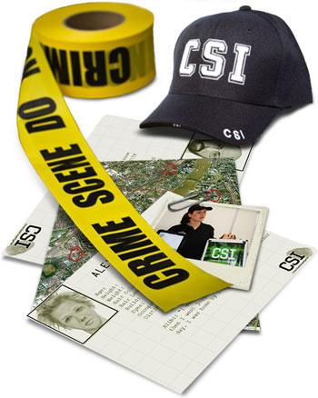 CSI:City - themed treasure hunt event