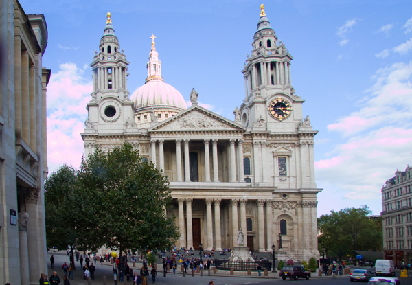 St Paul's Cathedral Treasure Hunt Location, London