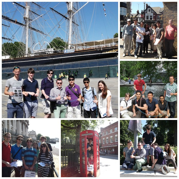 Teajm Building Treasure Hunt in London - Team Adventure in Greenwich